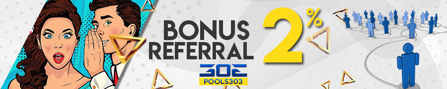BONUS REFERRAL TOGEL 2%